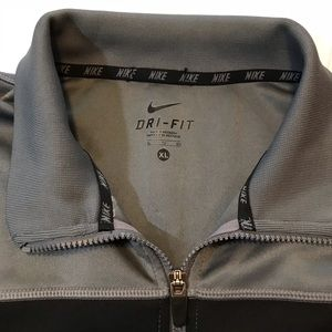 Nike Jackets & Coats - Nike LiveStrong Gray Full Zip Jacket